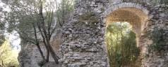 Rocca Sillana in notturna